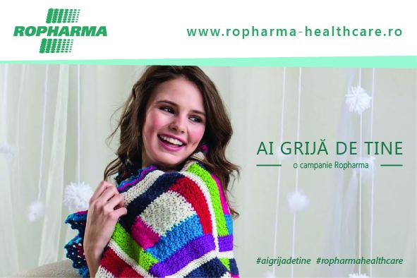 """Ropharma lansează campania """"Ai grijă de tine"""" – metoda naturală  de prevenție în 3 pași"""