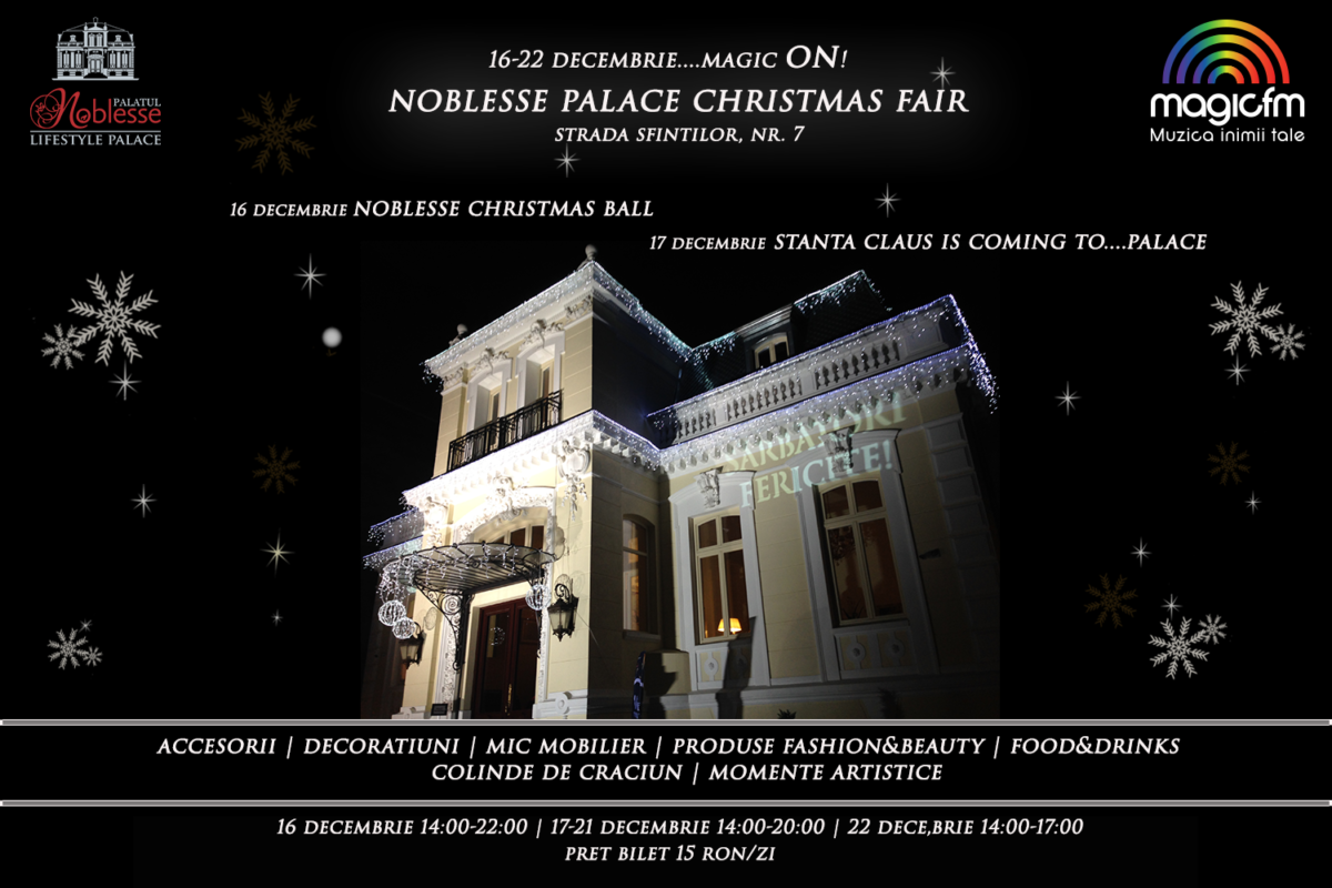 Noblesse Palace Christmas Fair – Magic ON!