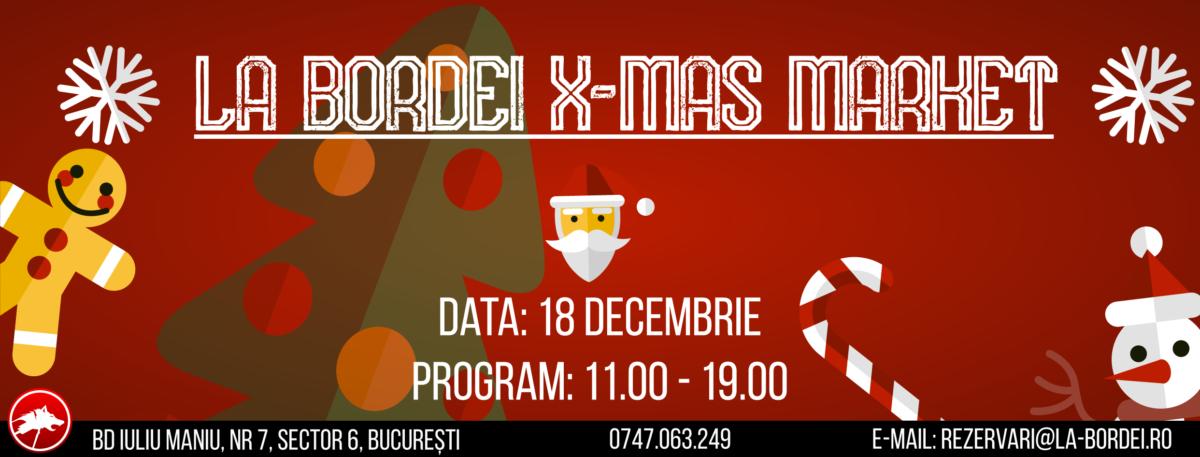 Vino sa descoperi cadourile pentru cei dragi la X-Mas Market La Bordei