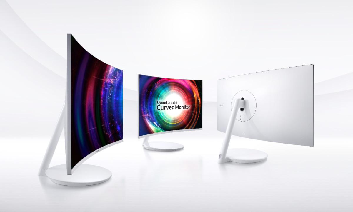Samsung va prezenta la  CES 2017 noua serie de monitoare curbate cu tehnologie Quantum Dot