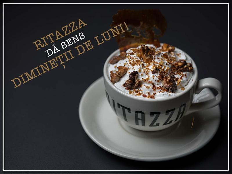 Ritazza te premiază cu cafea în fiecare dimineață de luni
