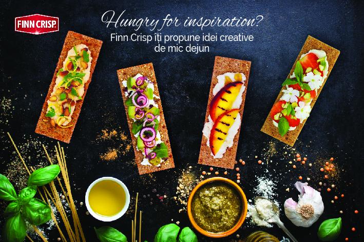 """,,Hungry for inspiration"""" cu pâinea finlandeză Finn Crisp"""