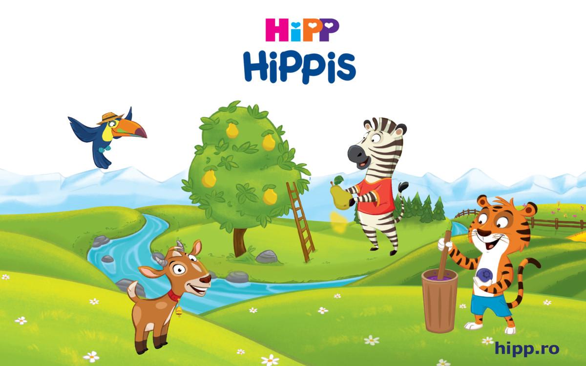 HiPP HiPPiS – fructe delicioase şi super distracţie pentru toată familia