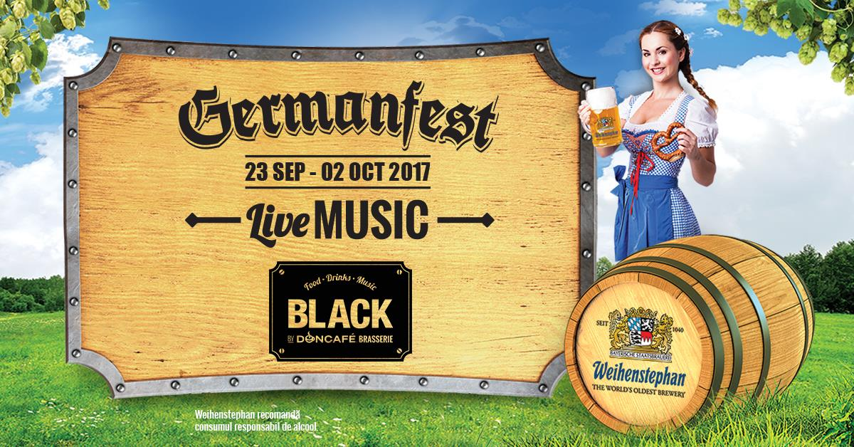 GERMANFEST @BlackbyDoncafeBrasserie