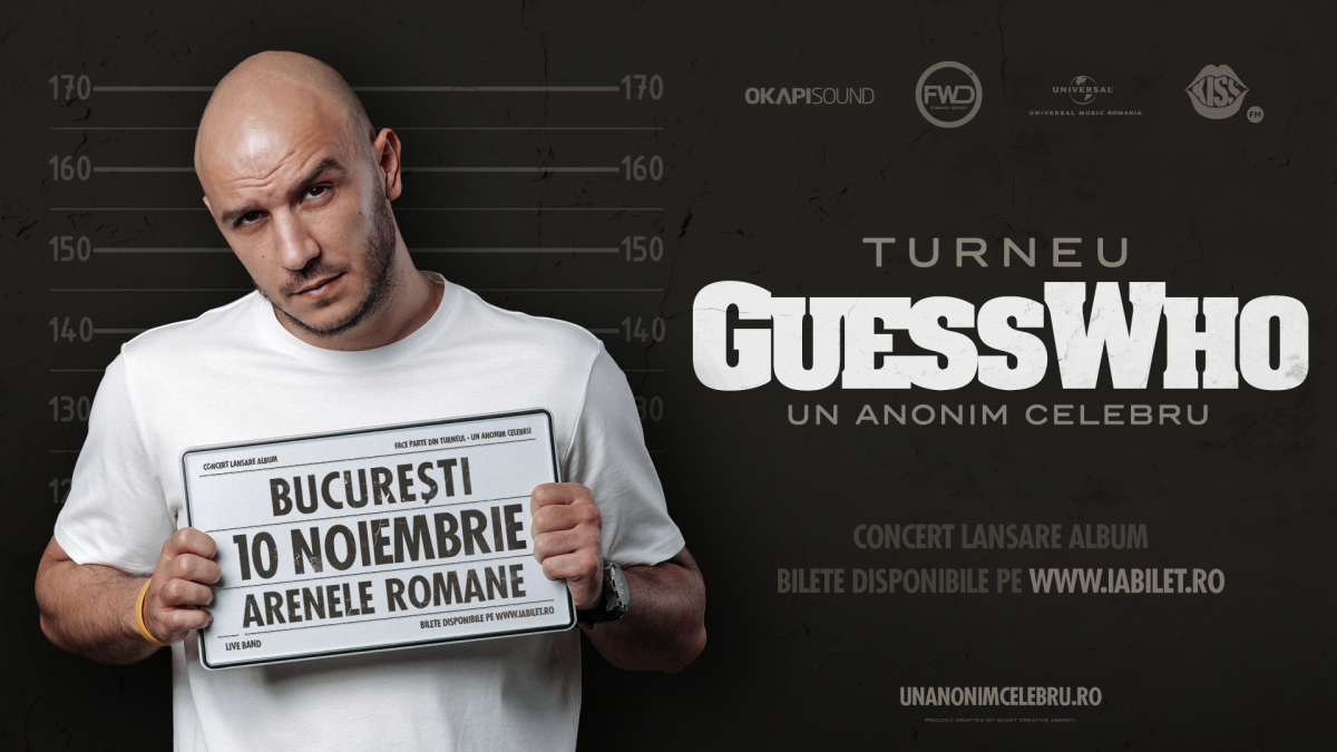 "Guess Who pleaca in turneul ""Un Anonim Celebru"""