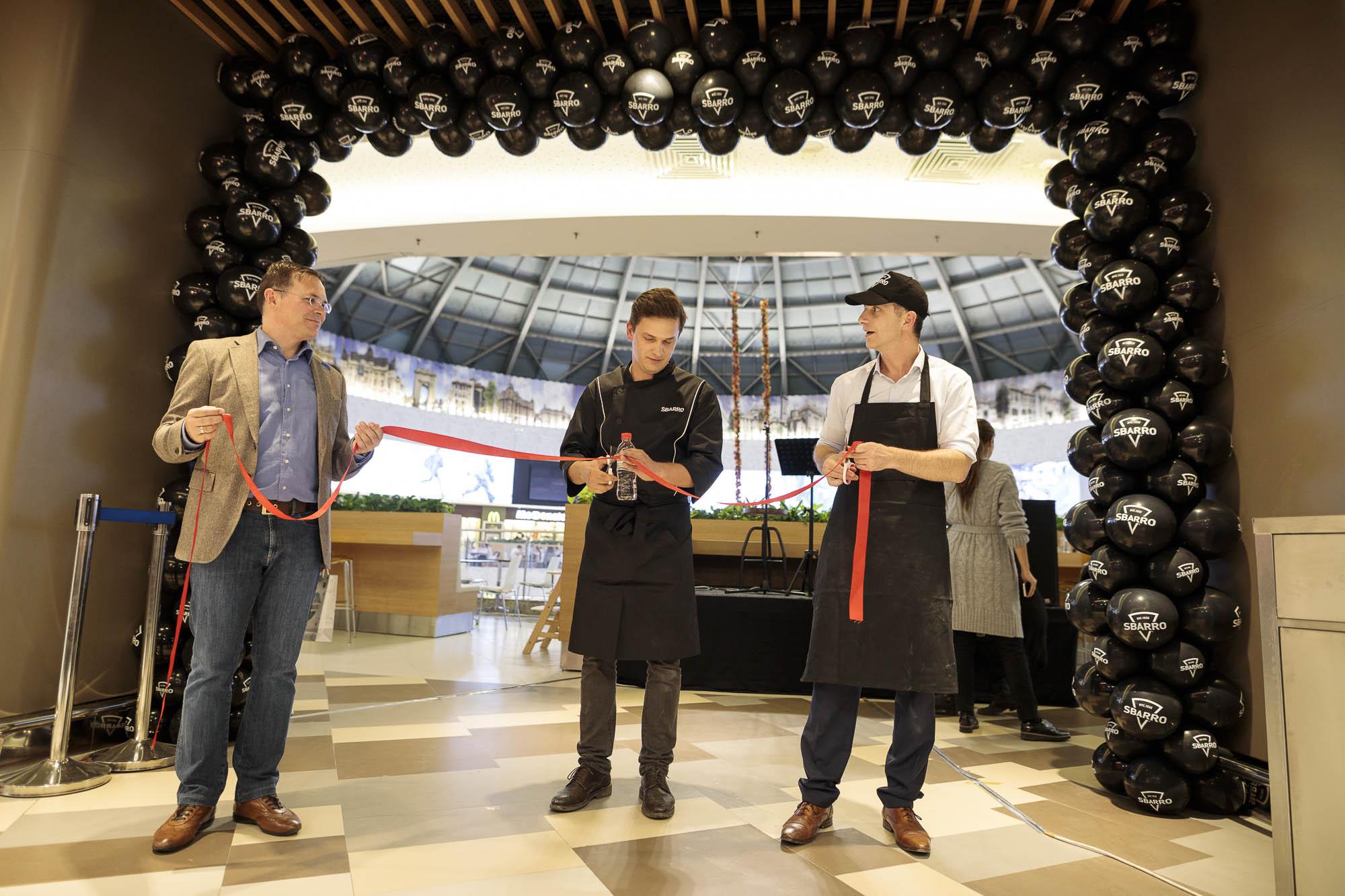 SBARRO a inaugurat primul restaurant din România în București Mall