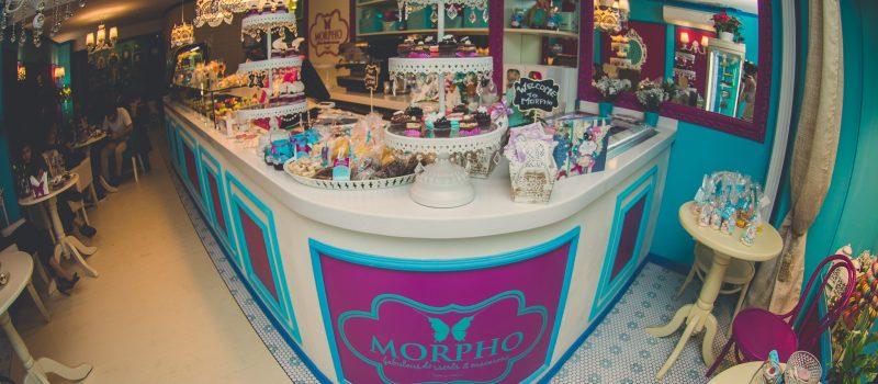 S-a deshis o noua locatie Morpho Fabulous Desserts & Macarons