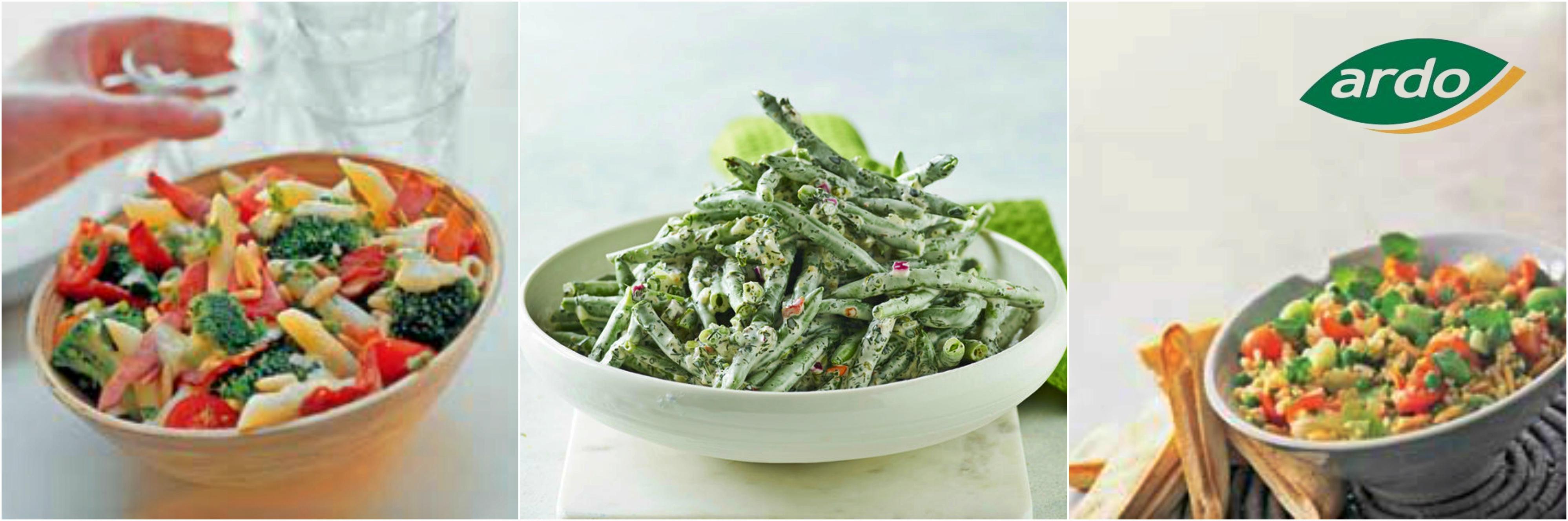 3 salate sănătoase pentru primăvară