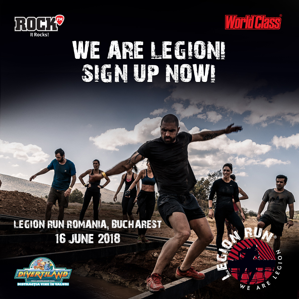 Legion Run, evenimentul internațional care îți schimbă perspectiva, acum în România