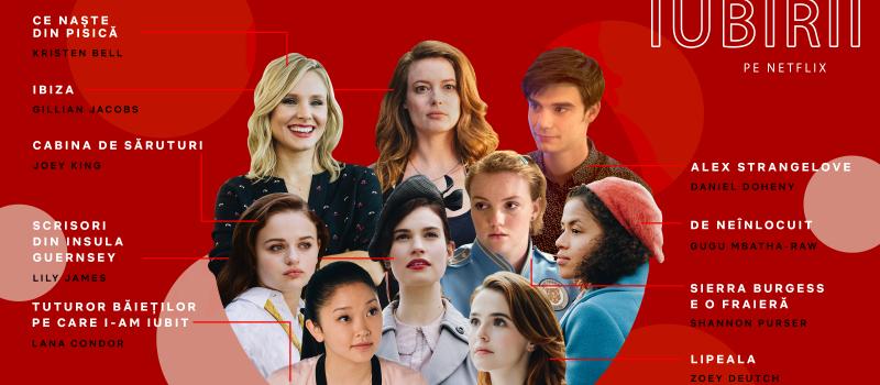 A inceput vara iubirii cu filme romantice pe Netflix