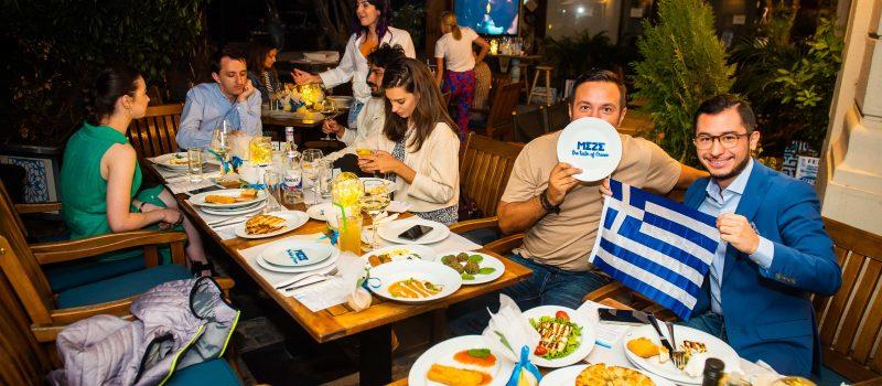 O calatorie in Grecia Culinara incepe la MEZE TAVERNA