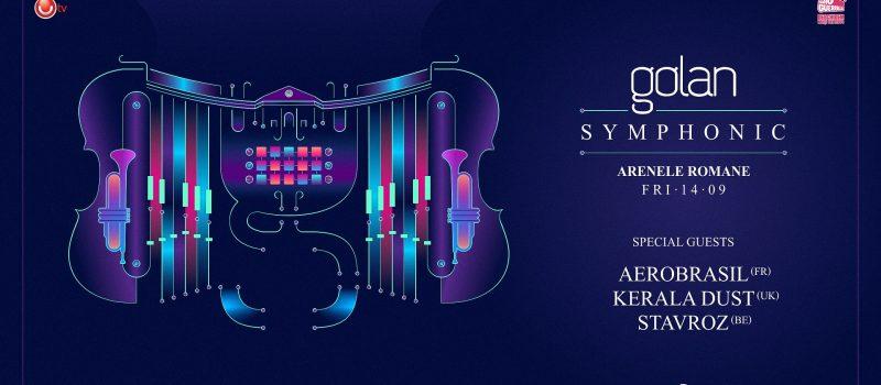 "Golan lanseaza piesa ""September Fall"" inaintea concertul simfonic de la Arenele Romane"