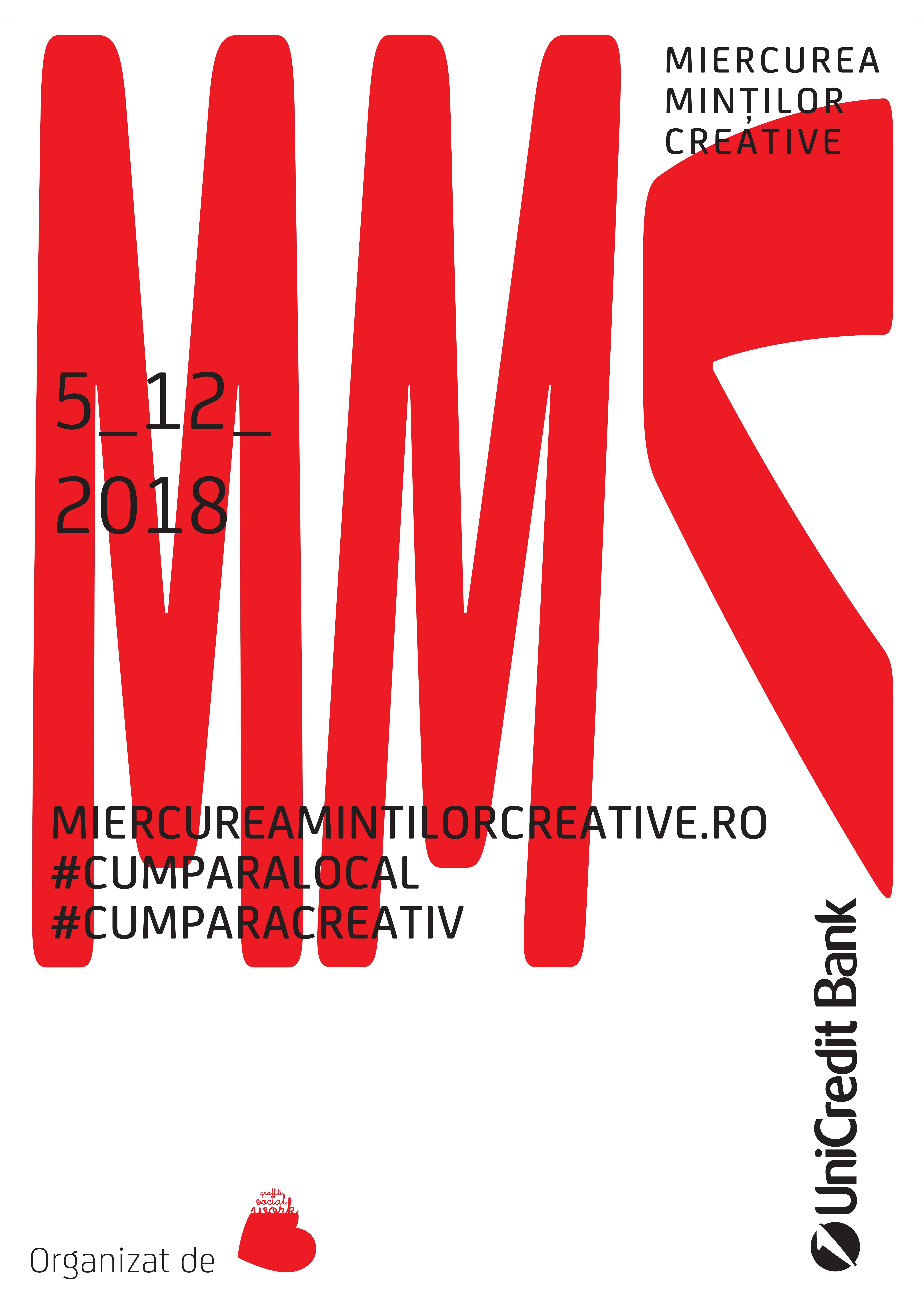 Miercurea Minților Creative, festivalul de shopping dedicat afacerilor creative