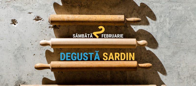 Degusta Sardin | 2 ani de gust Sardin