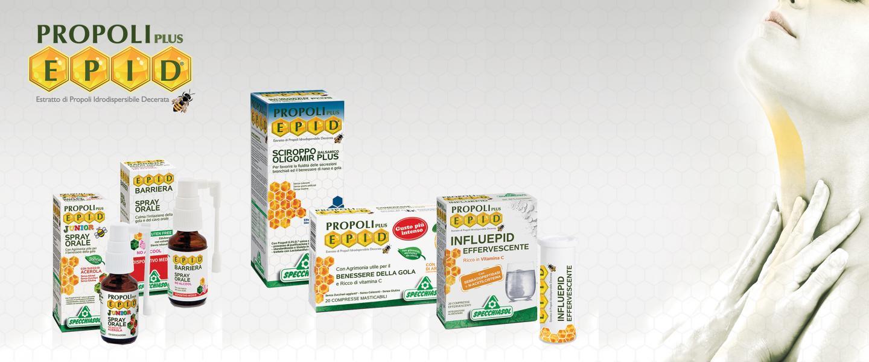 EPID este singurul produs pe bază de propolis pur cu un grad scăzut de dezvoltare a reacțiilor alergice