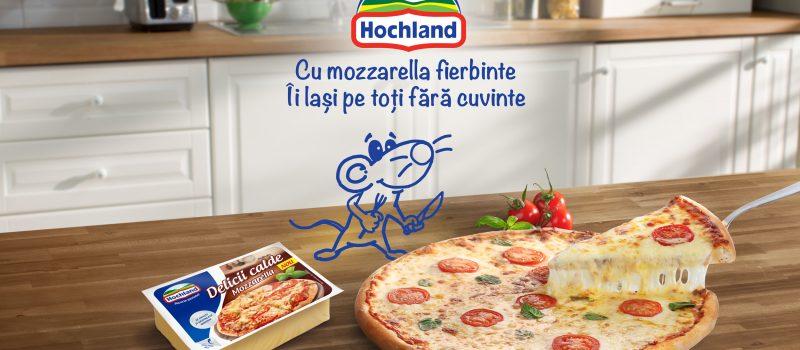 Hochland lanseaza Mozzarella, un nou produs din gama Delicii Calde