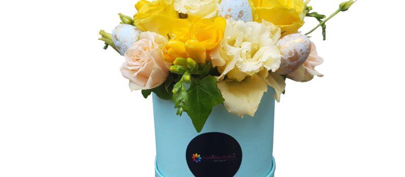 Decoratiuni florale de Paste de la Floraria Mobila