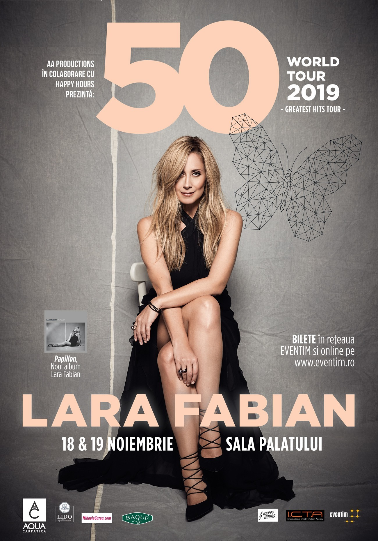 Lara Fabian revine in Romania in luna Noiembrie