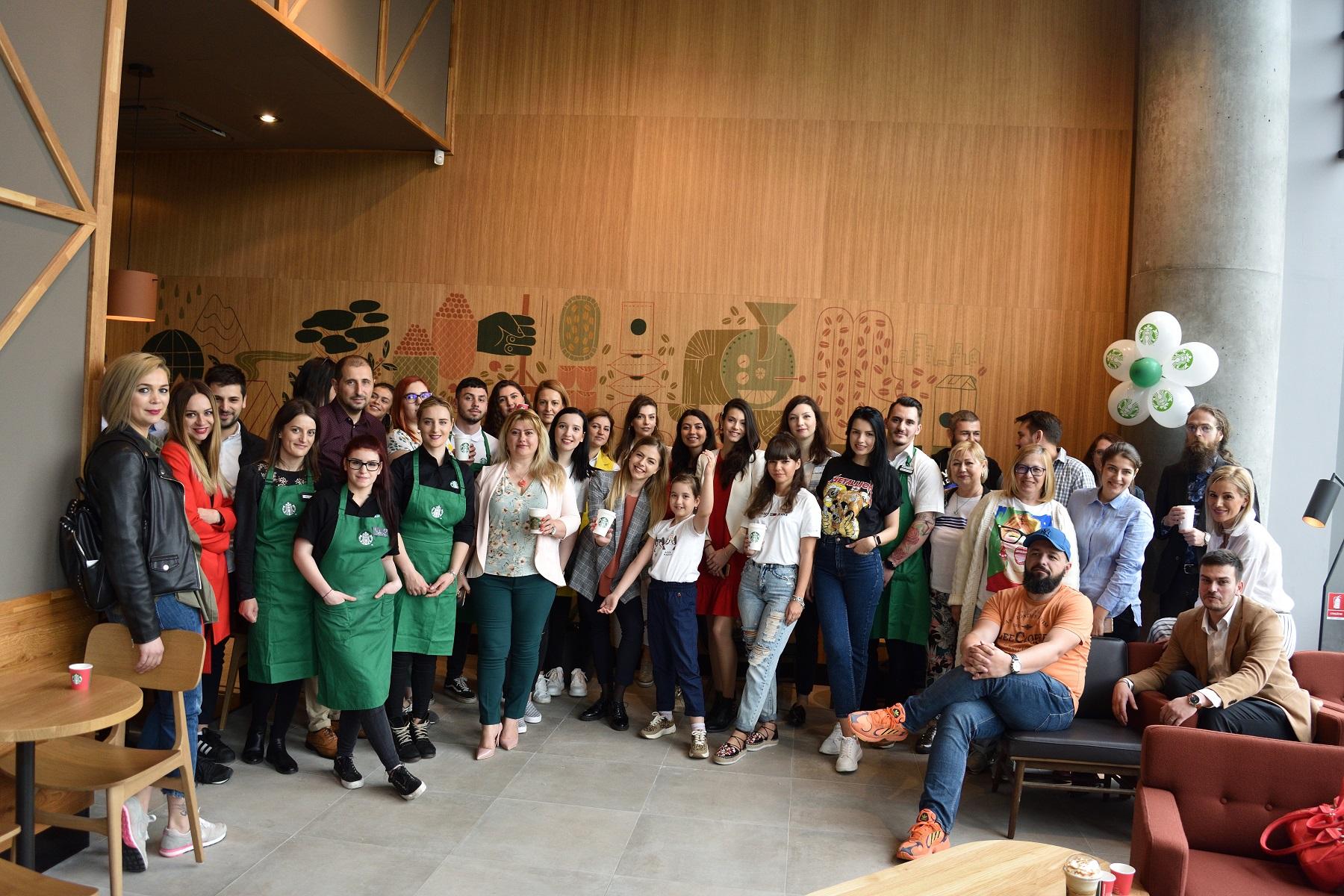 Starbucks deschide a 26-a cafenea din Bucuresti
