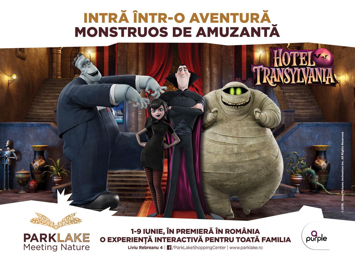 Intră într-o aventură monstruos de amuzantă la ParkLake! Trăiește experiența HOTEL TRANSYLVANIA în premieră la ParkLake