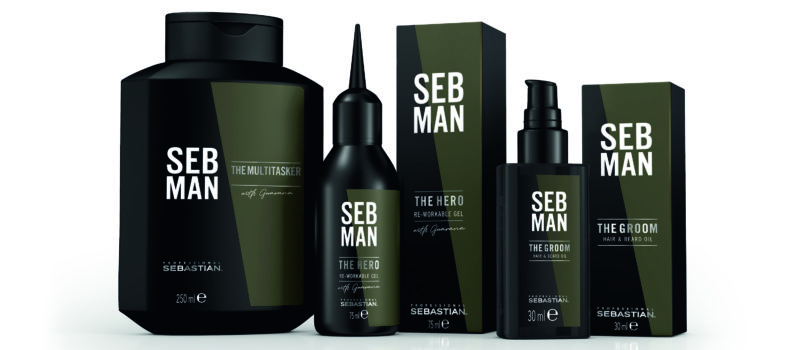 HOT NEWS! Sebastian Professional lanseaza SEB MAN!
