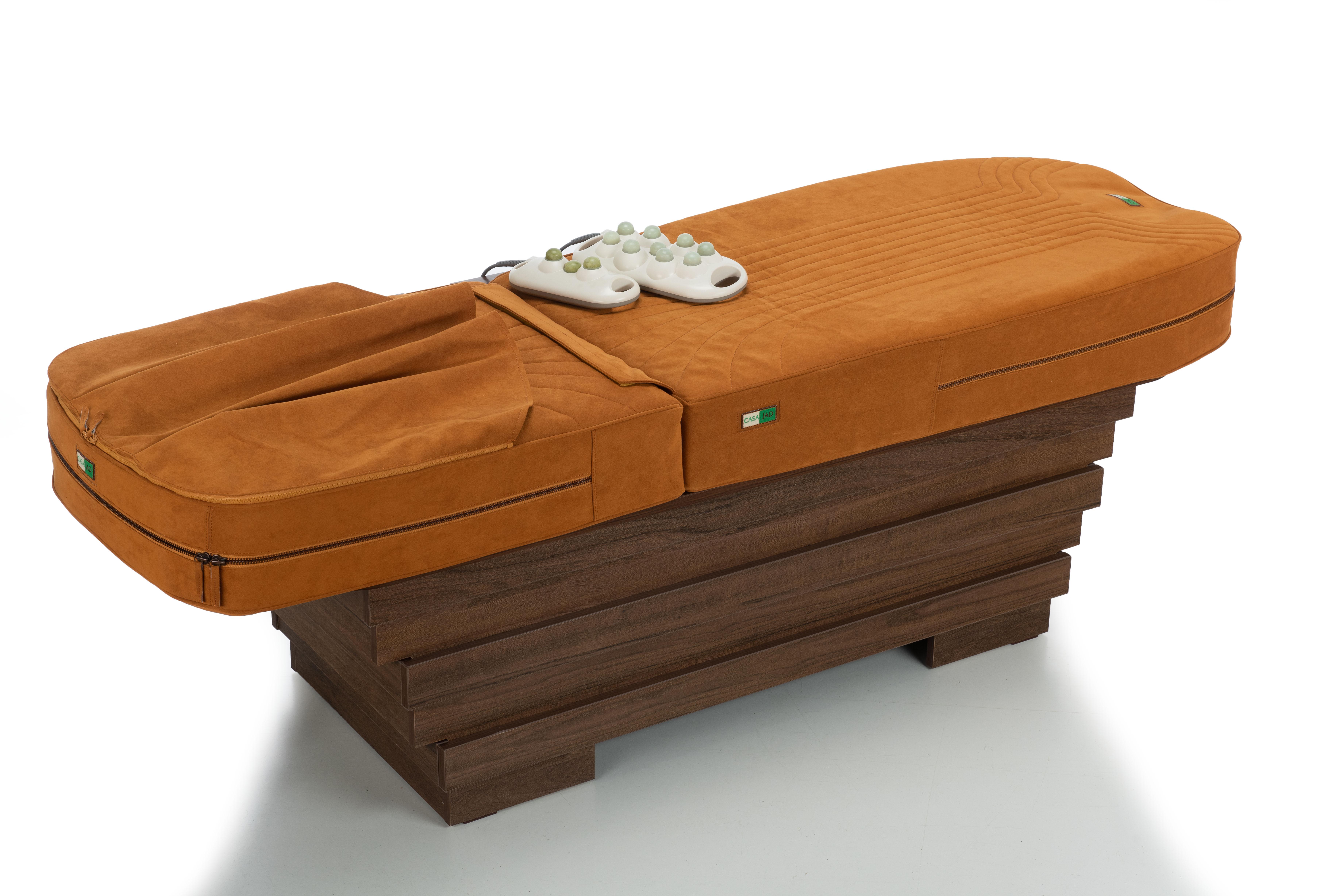 CASA JAD lanseaza patul de masaj Alcantara Prestige