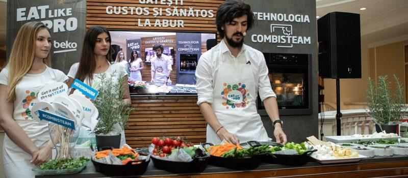 Beko anunta parteneriatul cu Chef Alex Petricean si lanseaza cuptorul CombiSteam