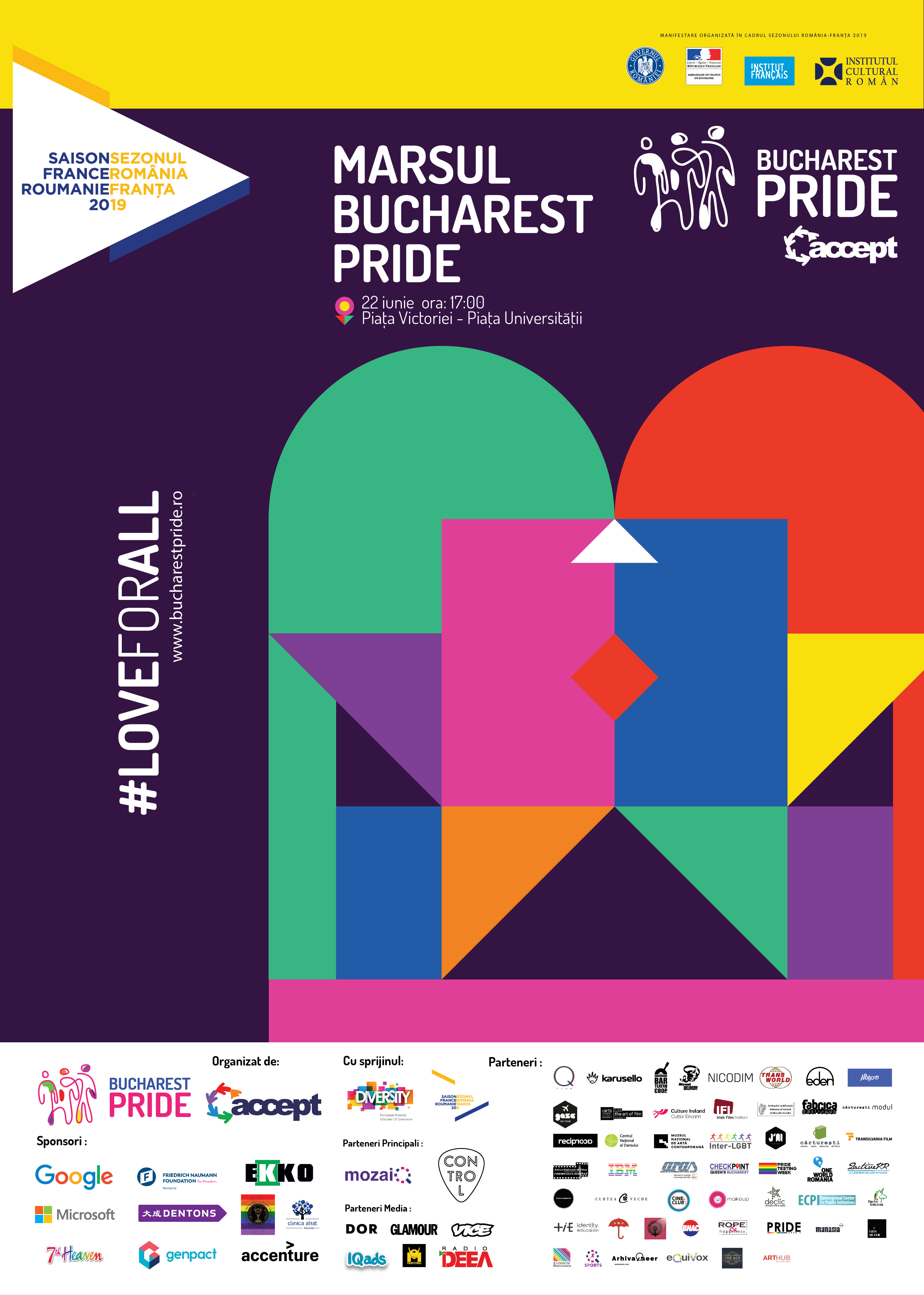 Bucharest Pride 2019 #loveforall