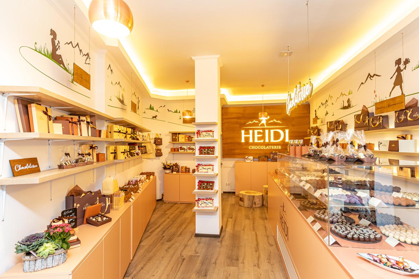 HEIDI Chocolat a deschis primul pop-up shop cu ciocolata premium in centrul Bucurestiului