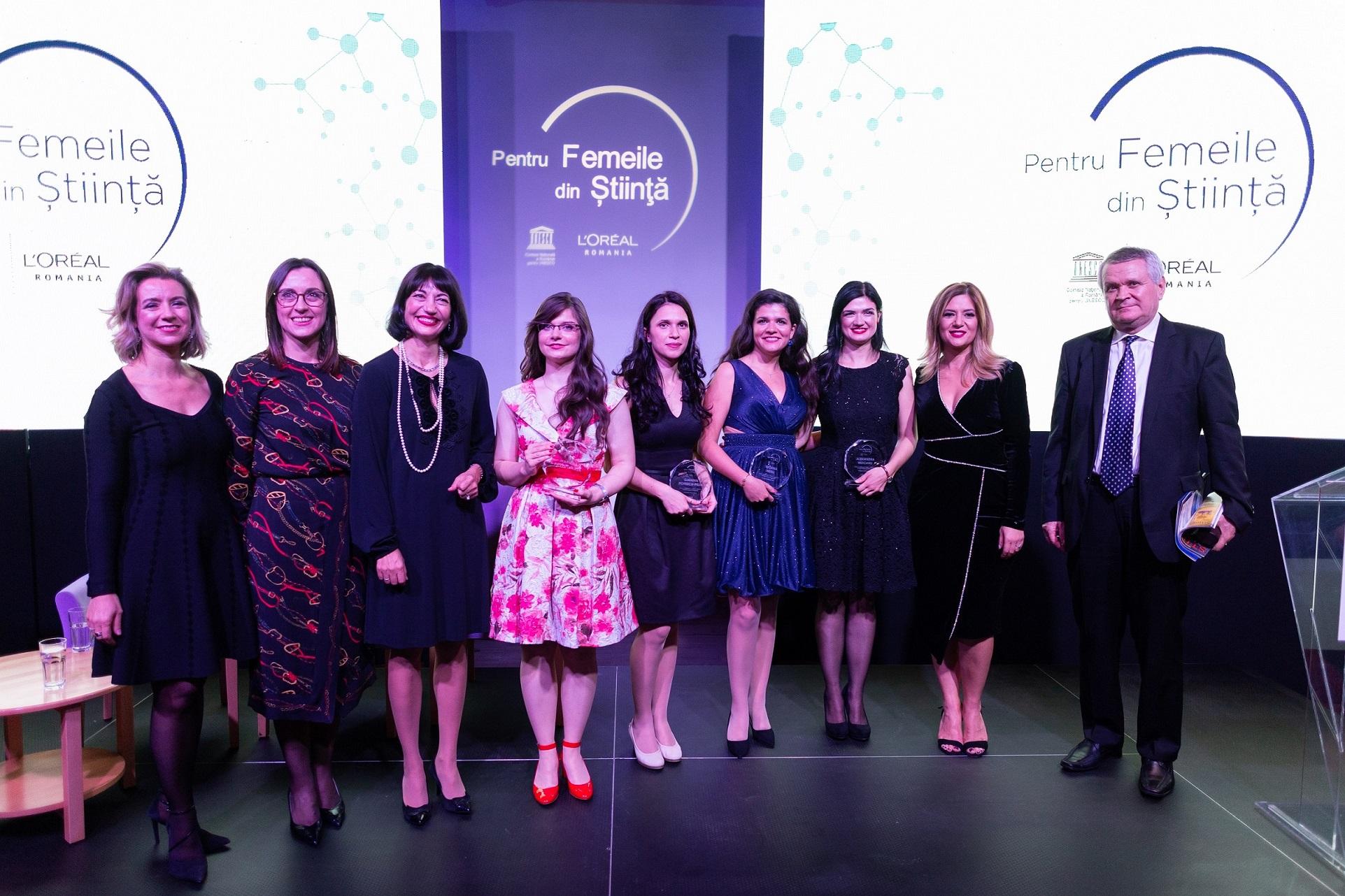 L'Oréal si UNESCO au desemnat castigatoarele burselor L'Oréal