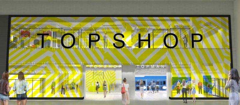 Cel mai mare magazin TOPSHOP TOPMAN se deschide pe 14 Noiembrie