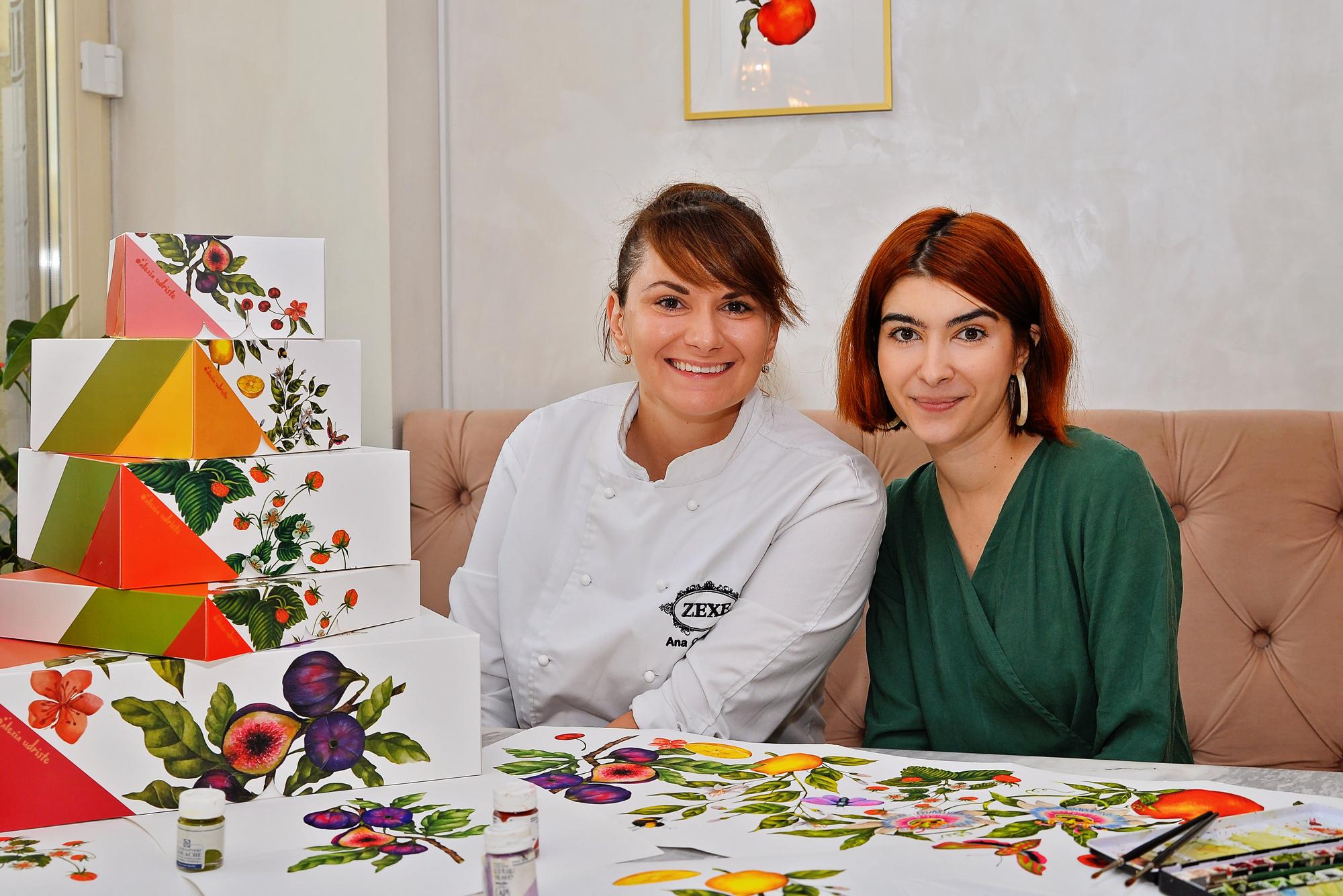 Artistul Alexia Udriște semnează noua colecție de ambalaje Zexe Braserie