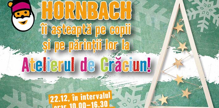 HORNBACH organizeaza ateliere creative cu tematica de Craciun pentru copii