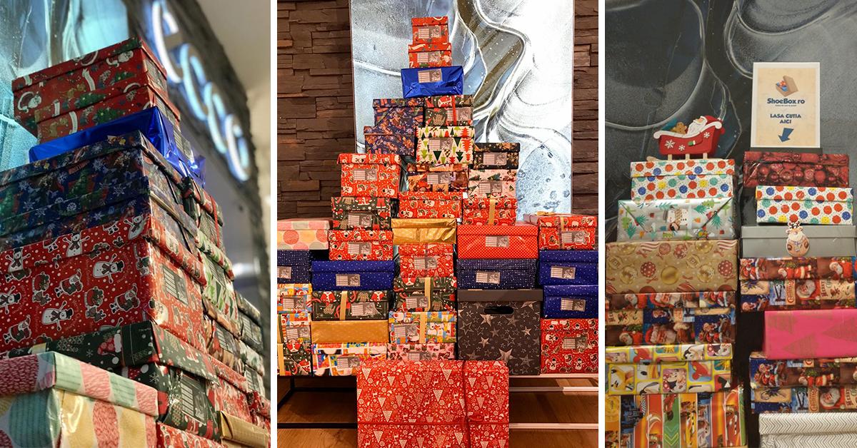 ÎMPREUNĂ dăruim zâmbete de Crăciun – Campania ShoeBox a ajuns la a 12-a ediție!
