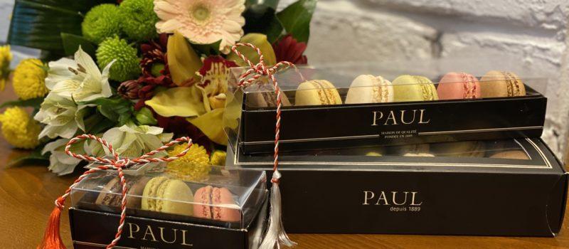 PAUL sărbătorește începutul primăverii cu o colecție de mărțișoare – Mini macarons