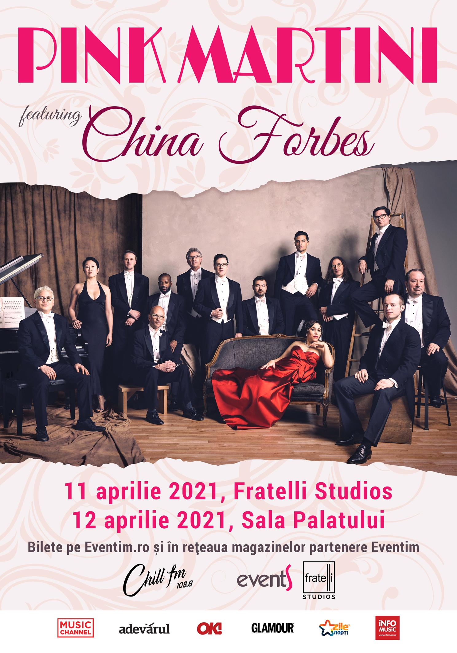 Concertele Pink Martini din București, reprogramate în primăvara lui 2021