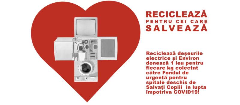 Recicleaza pentru cei care salveaza!