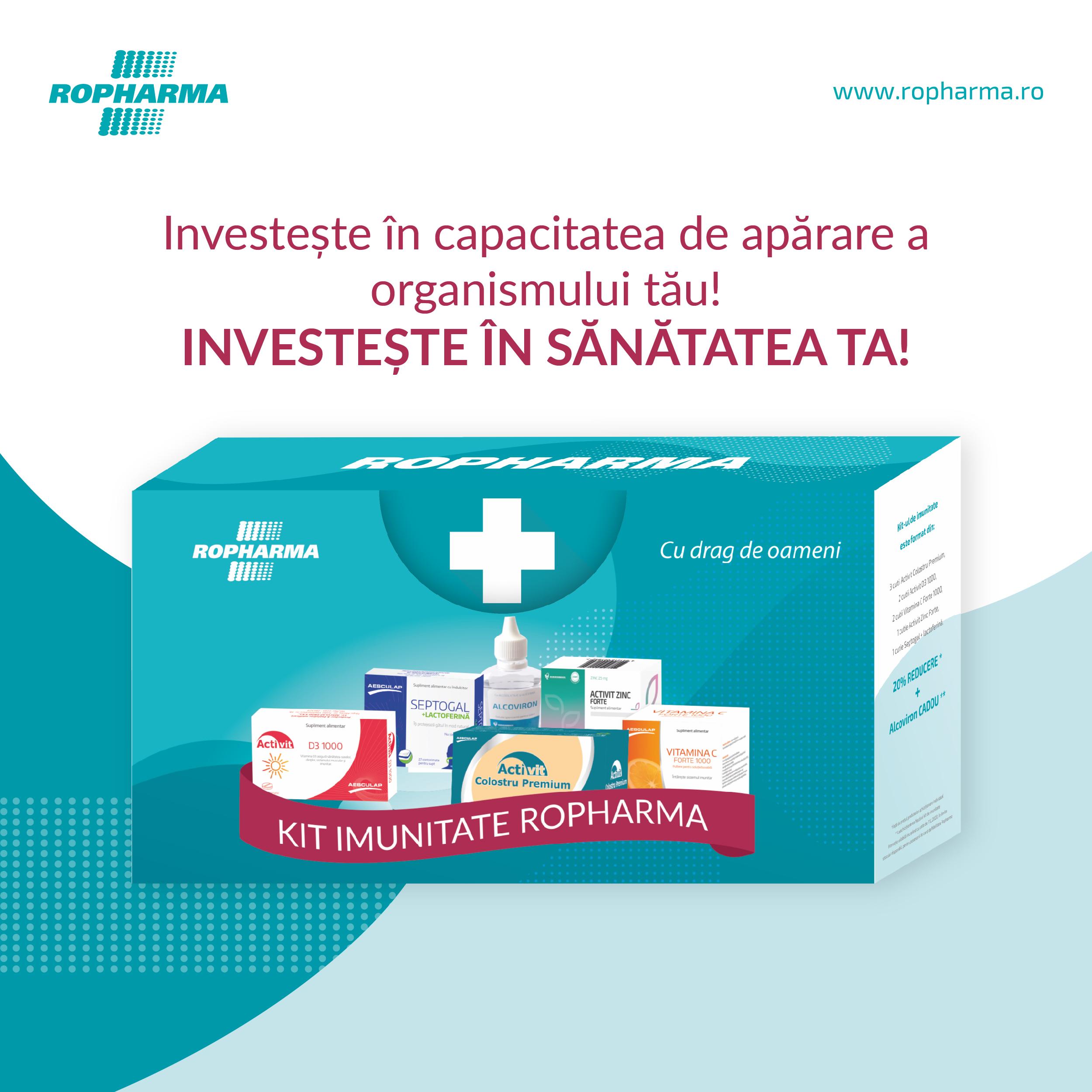Kit IMUNITATE – Investește în sănătatea ta!